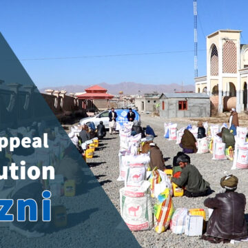 Winter appeal distribution in Ghazni - 2021 (2)