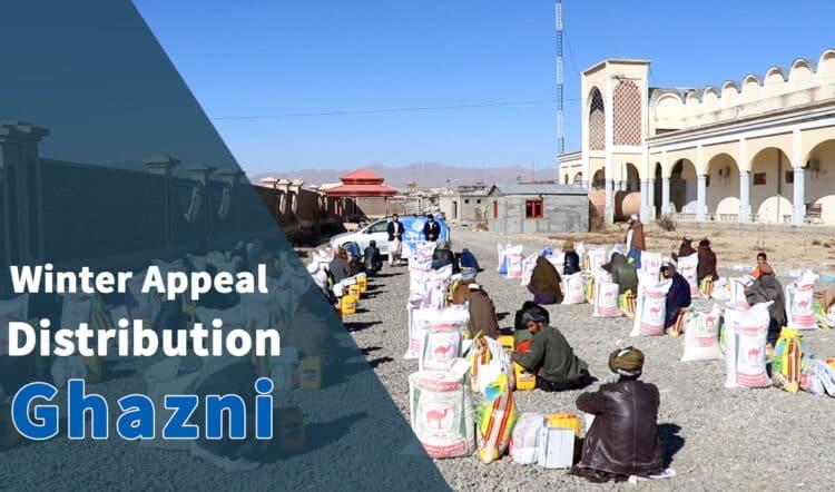 Winter appeal distribution in Ghazni - 2021 (2)