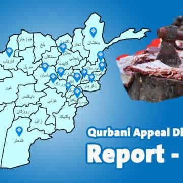 Qurbani Appeal Distribution Report - 2021